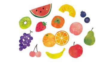 「果物(フルーツ)は体に良い」の間違いと糖質量について