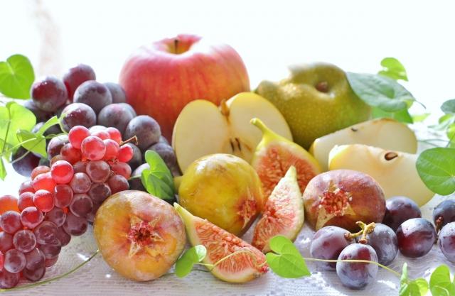 果物盛り合わせ写真