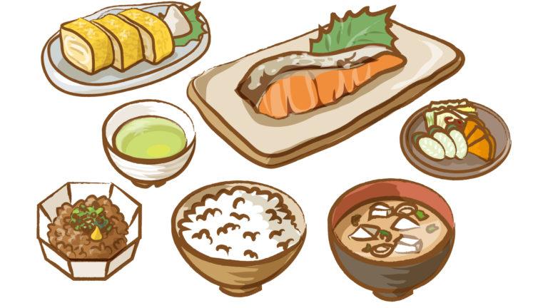 和食における朝食
